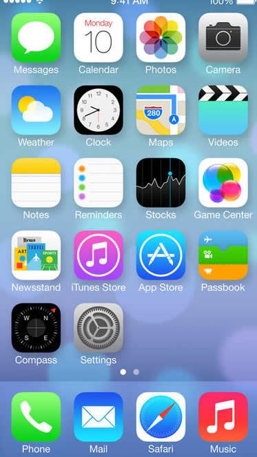 iOS7 アイコン