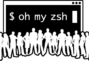 oh-my-zsh ロゴ