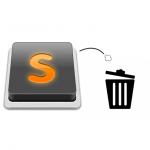 Sublime Text 2 で不要なプラグインを削除・アンインストールする方法