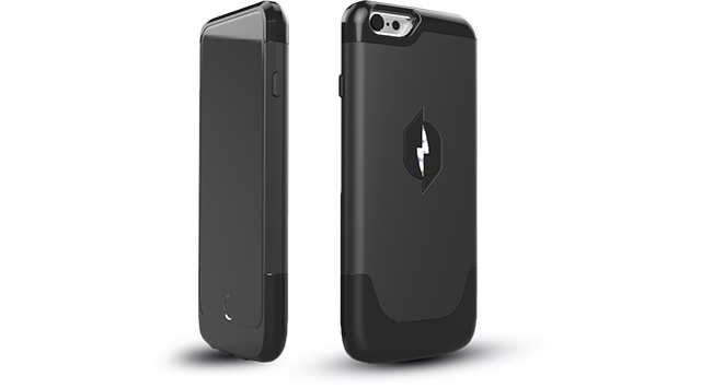 空中の電波から充電できるiPhoneケース