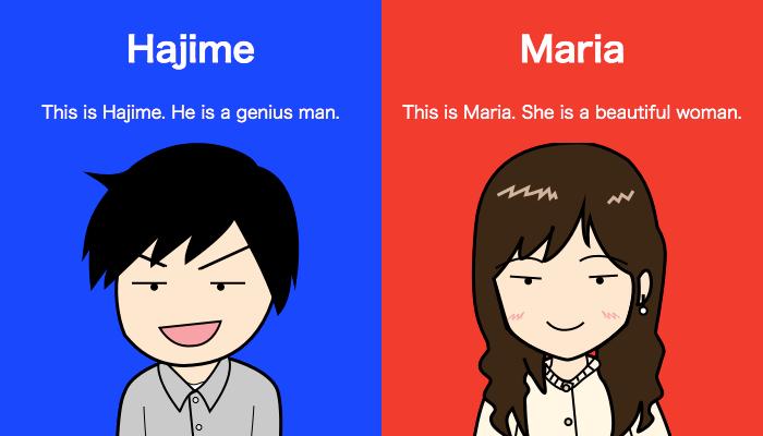 HajimeとMaria